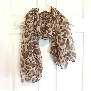 Accessories - 🇺🇸 Oversized leopard scarf